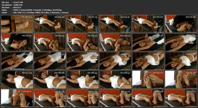 Tickling-Submission - Tickler gets GabrielleTickling