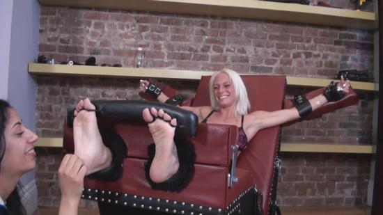 TickleAbuse - Topless and Ten ToesTickleAbuse