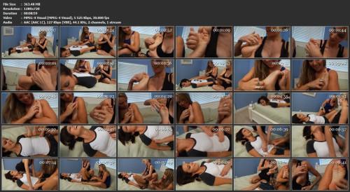 TickleCentral - Nadia's Hogtie Double TeamedTickleCentral