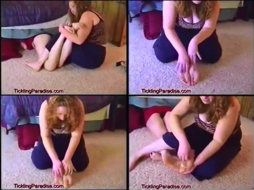 TicklingParadise - Tickling Feet Under BedTicklingParadise