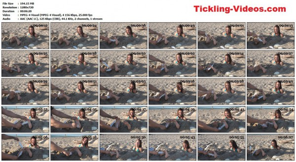 WayTooTicklish - Sierra buried in the Sand and Tickled – Part 2WayTooTicklish