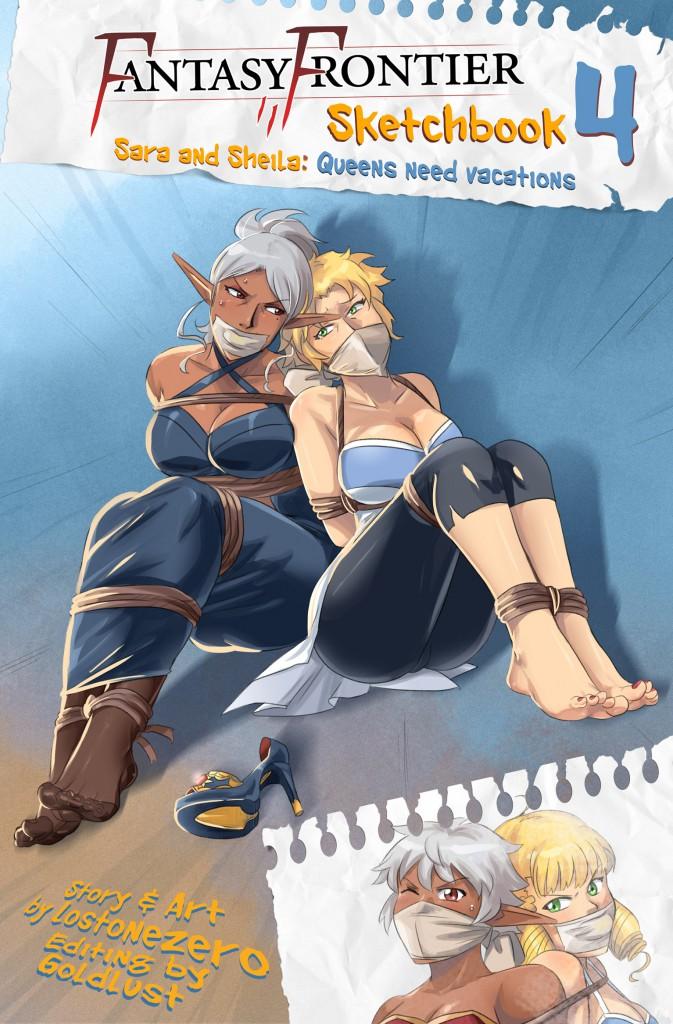 Fantasy Frontier Sketchbook