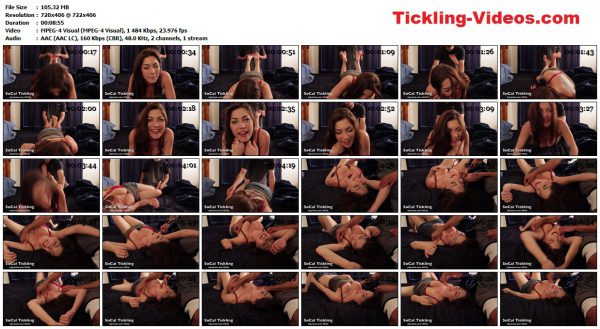 SoCalTickling - Kymberly Jane tickled in the poseSoCalTickling