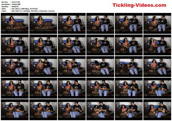 TicklingIsFun - Ginary Interviewed and TickledTicklingIsFun VIP Clips
