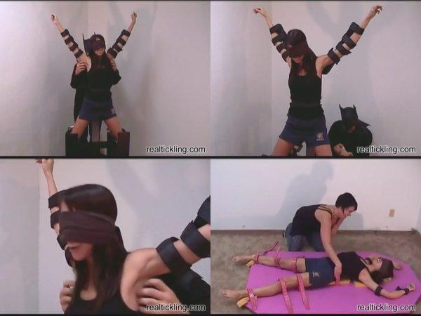 RealTickling - Geeanna 1 - Blindfolded TicklishnessRealTickling