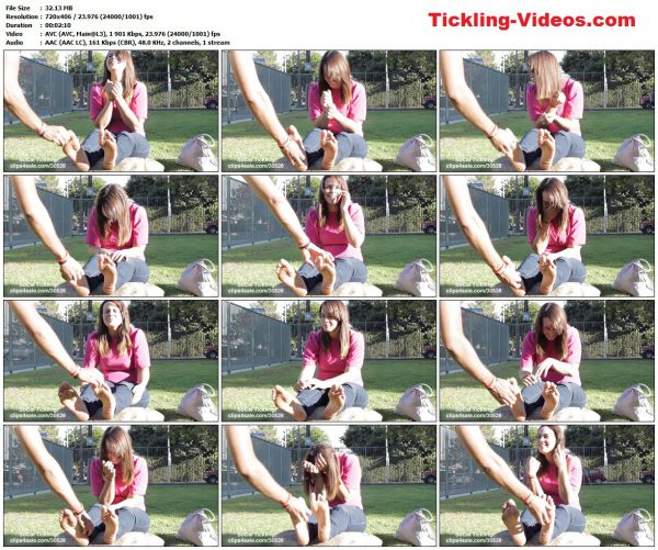 SoCalTickling - Jessica Dirty Feet Tickled in Public 2SoCalTickling