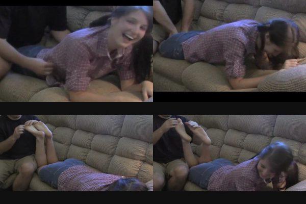 LaughterIsBeautiful - Jessica: The Ticklish Girl Next Door Part 2LaughterIsBeautiful VIP Clips