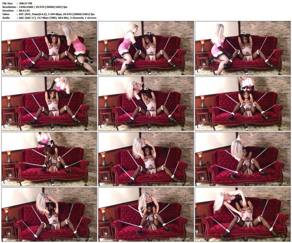 SandraSilvers - Celeste's First TicklingSandraSilvers VIP Clips