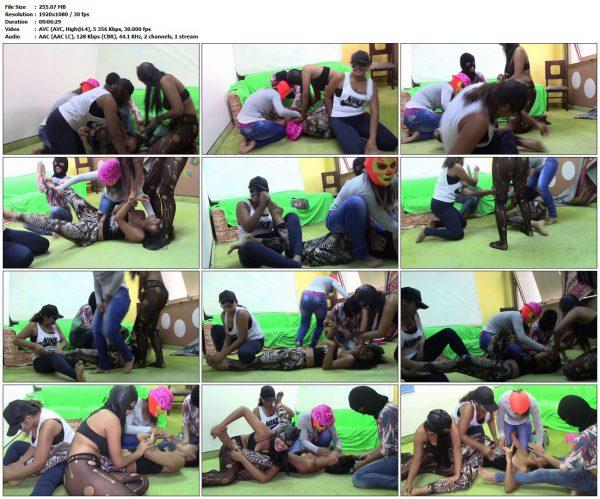 TicklingHDLast - Tickling Robbery On Pocahontas + Samantha + Jenny + Kendra + Natasha CompleteTicklingHDLast VIP Clips
