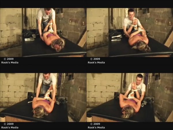 RooksMediaFetish - Taryn - Hogtied, Gagged and TickledRooksMediaFetish
