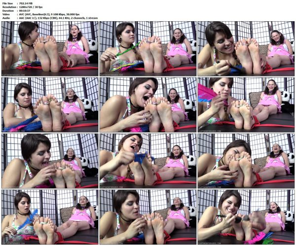 PlaytimeWithRaquel - Raquel Roper Breaks The Ice With Tickle Torture On Mary Masochism!PlaytimeWithRaquel VIP Clips