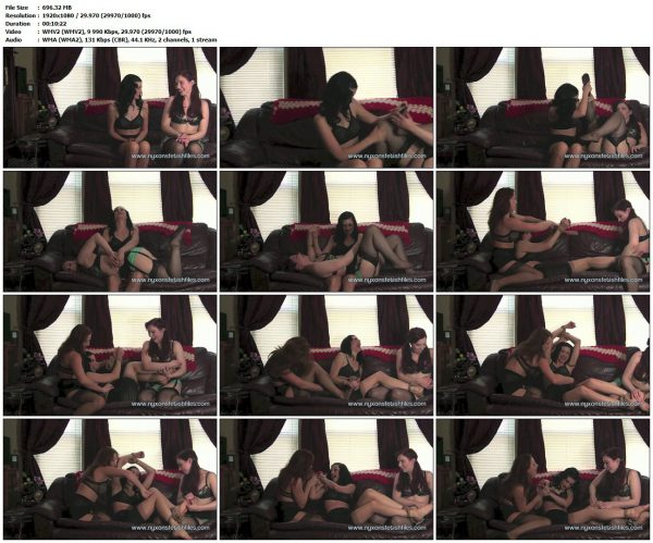 NyxonsFetishFiles - Ludella & Shauna's Tickle RevengeNyxonsFetishFiles VIP Clips
