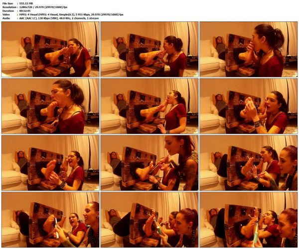 SpainTickling - Chiara Diletto and Silvia Rubi in action!SpainTickling VIP Clips