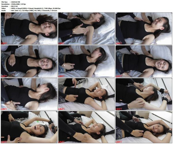 ChinaBestRealTickling - Stacy - Long Upperbody Tickle TestChinaBestRealTickling VIP Clips