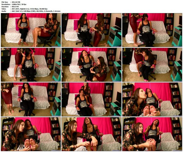Primal'sTicklegasm - Sofia receives tickle therapy from NikkiPrimal'sTicklegasm VIP Clips