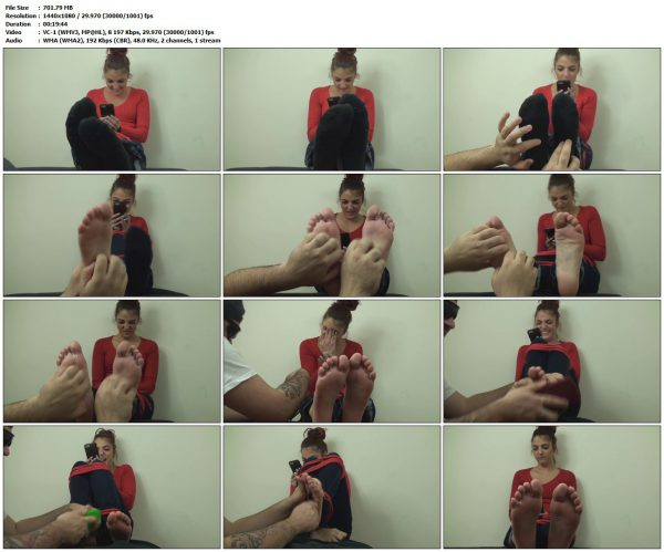 TheTickleRoom - The Most Ticklish Girl in Tongue TwistersTheTickleRoom VIP Clips