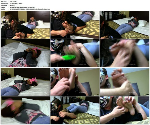 AsianFootTickling - Shae's Feet Tickled Up CloseAsianFootTickling VIP Clips