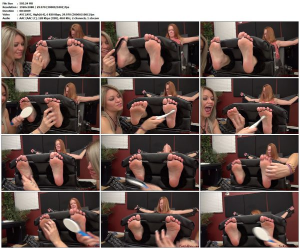 TickleAbuse - Soley Soles LexiTickleAbuse VIP Clips