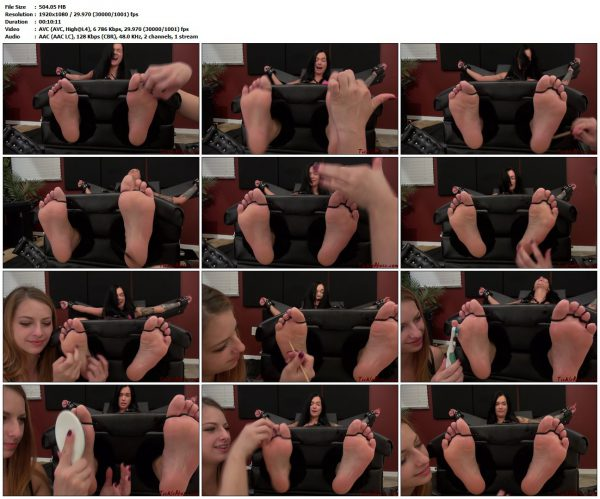 TickleAbuse - Just Feet MariaTickleAbuse VIP Clips