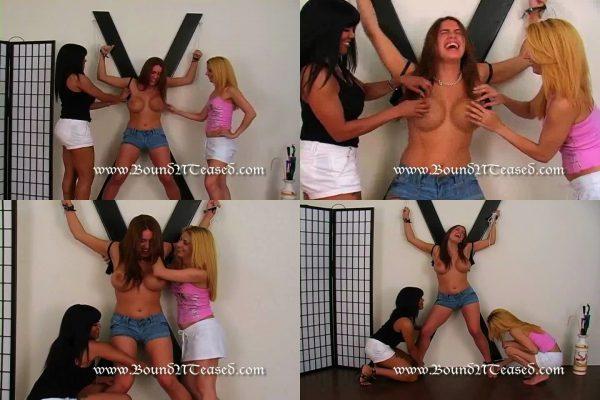 BoundNTeased - Megan's Two Girl TickleBoundNTeased
