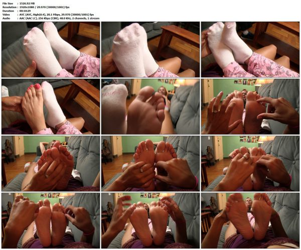JamieDaniels - Neighbor's Ticklish FeetJamieDaniels VIP Clips