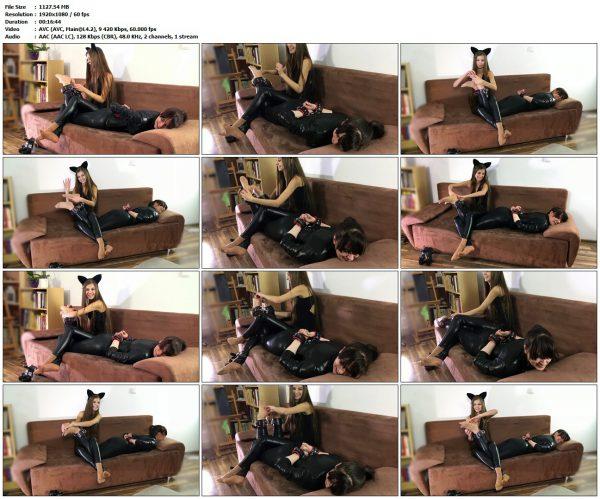 PolishMistressClips - Fetish Cat Gives Endorfins To Helpless WeronikaPolishMistressClips VIP Clips