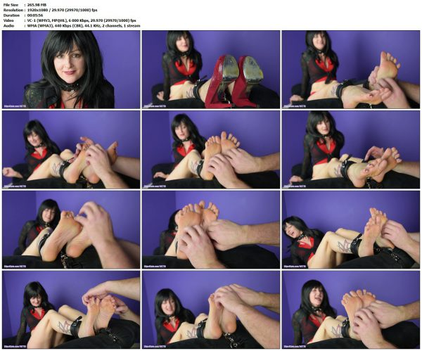 ScarlettSinnsTwistedFetishes - I Enjoy Having My Feet TickledScarlettSinnsTwistedFetishes VIP Clips