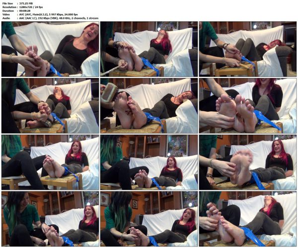 SpanishTies - Sua tickled!!SpanishTies VIP Clips