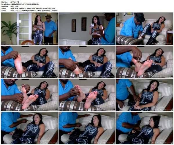 ShyAndWildTickling - Ticklish Inspection - Part 1ShyAndWildTickling