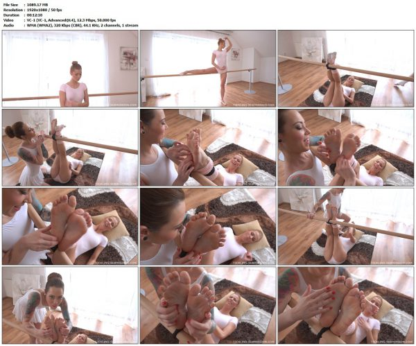 Tickling-Submission - Foot tickled ballerinaTickledFeet VIP Clips