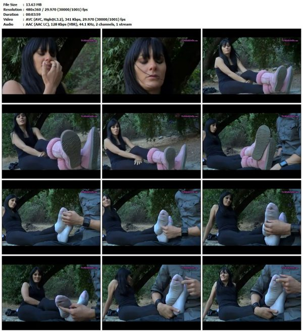 TicklishDolls - Ticklish Dominatrix FeetTicklishDolls