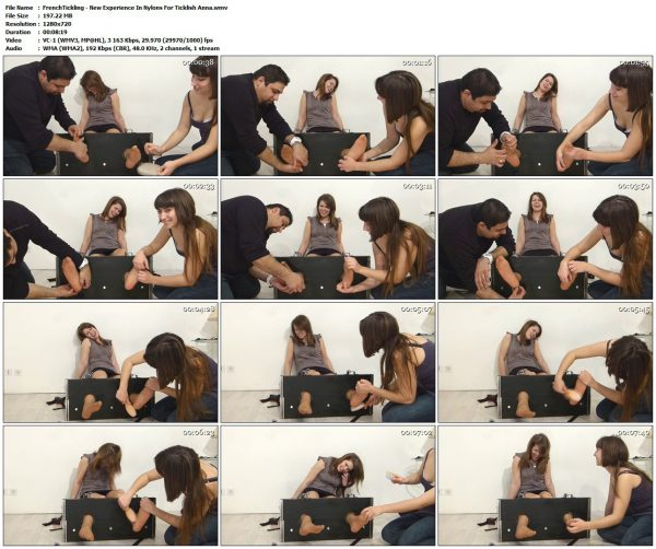 FrenchTickling - New Experience In Nylons For Ticklish AnnaFrenchTickling