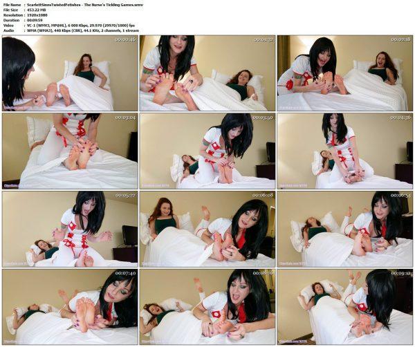 ScarlettSinnsTwistedFetishes - The Nurse's Tickling GamesScarlettSinnsTwistedFetishes VIP Clips