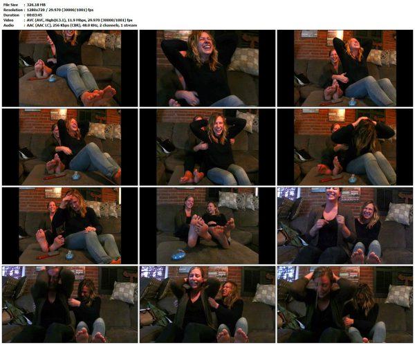 TickledPink - Friends Upperbody tickle testTickledPink VIP Clips