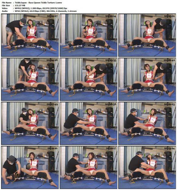TickleJapan - Race Queen Tickle Torture 1TickleJapan