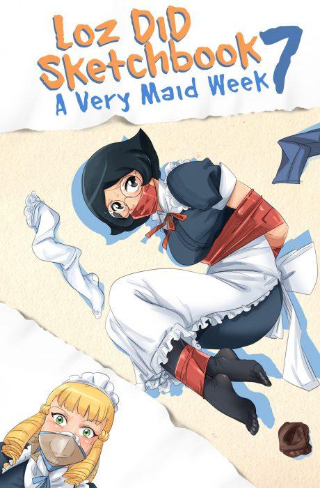 Loz DiD Sketchbook Vol.7 - A very maid weekComics
