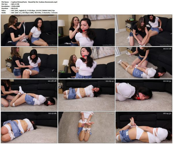 CaptiveChrissyMarie - Bound By Her Jealous RoommateCaptiveChrissyMarie VIP Clips
