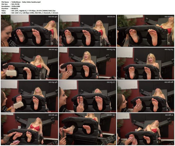 TickleAbuse - Soley Soles SandraTickleAbuse VIP Clips