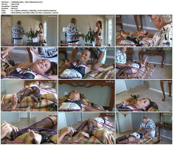 TicklingParadise - Kali's Submission!TicklingParadise