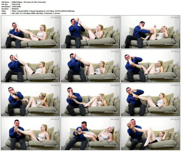PhillyTickling - Of Course it's the Toes!PhillyTickling VIP Clips