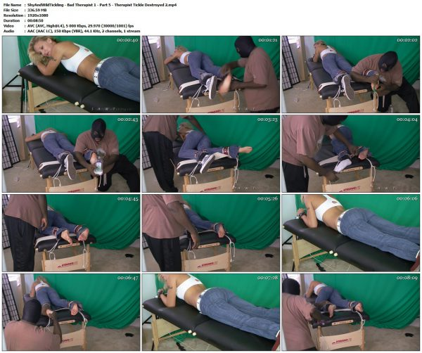 ShyAndWildTickling - Bad Therapist 1 - Part 5 - Therapist Tickle Destroyed 2ShyAndWildTickling
