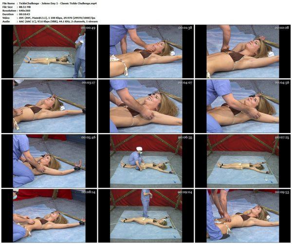 TickleChallenge - Jolene Day 1 - Classic Tickle ChallengeTickleChallenge