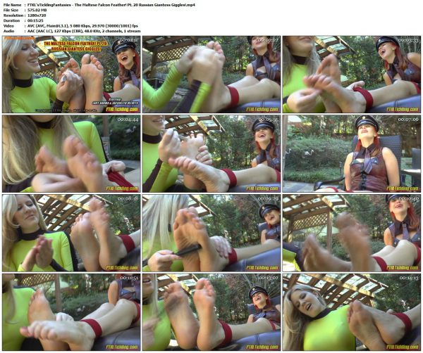 FTKL'sTicklingFantasies - The Maltese Falcon Feather! Pt. 20 Russian Giantess Giggles!FTKL'sTicklingFantasies