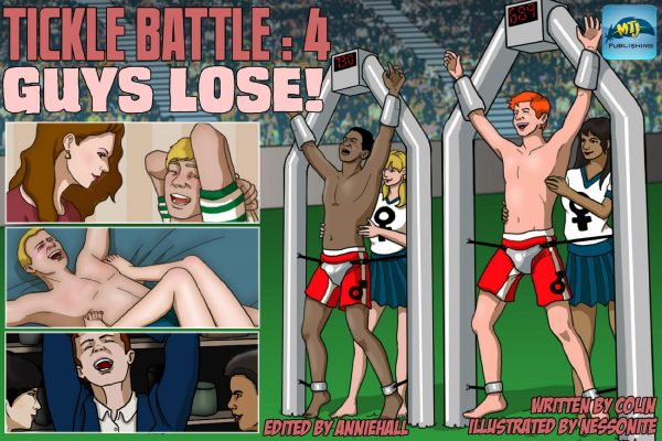 Tickle Battle 04 Guys Lose!Comics