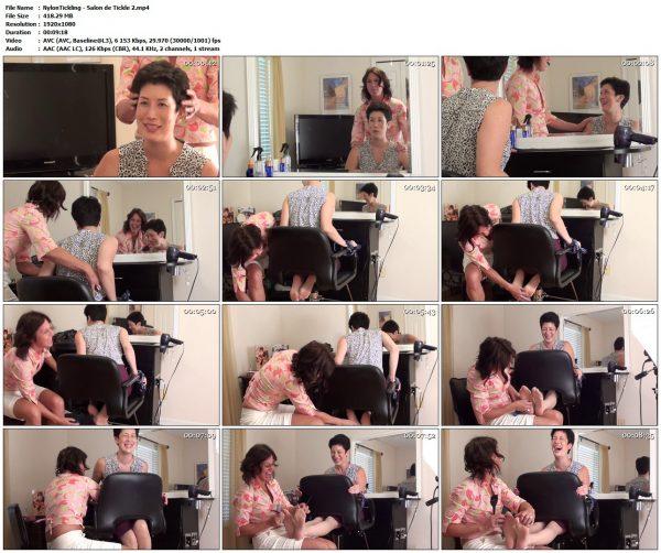 NylonTickling - Salon de Tickle 2NylonTickling VIP Clips