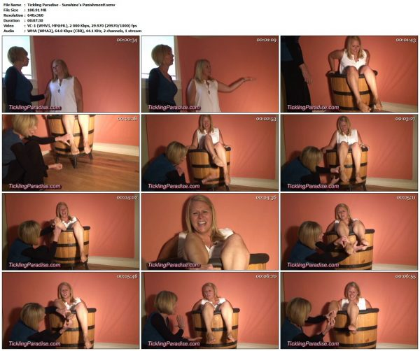 TicklingParadise - Sunshine's Punishment!TicklingParadise