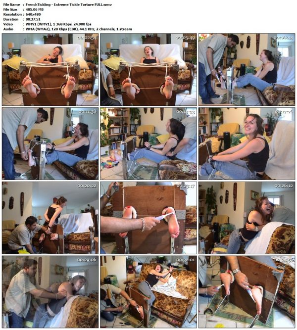 FrenchTickling - Extreme Tickle Torture FULLFrenchTickling