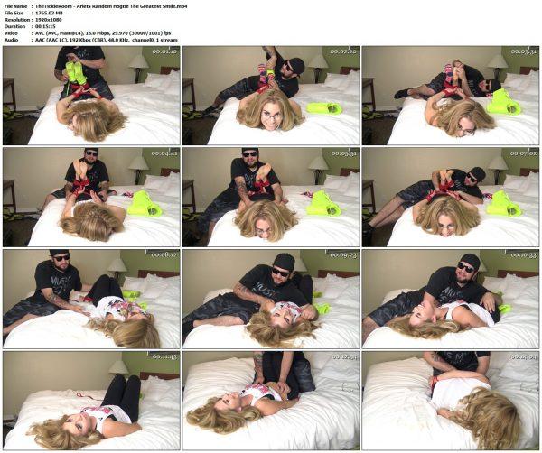 "TheTickleRoom - Arlets Random Hogtie ""The Greatest Smile""TheTickleRoom VIP Clips"