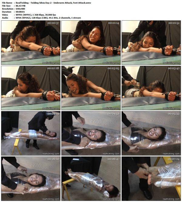RealTickling - Tickling Silvia Day 2 - Underarm Attack, Feet AttackRealTickling
