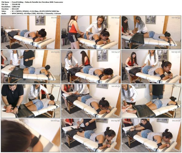 FrenchTickling - Malou & Murielle Are Merciless With TeaneFrenchTickling VIP Clips